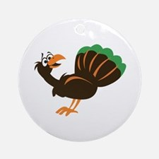 TURKEY Ornament (Round)