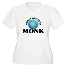 World's Most Clever Monk Plus Size T-Shirt
