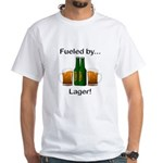 Fueled by Lager White T-Shirt