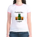 Fueled by Lager Jr. Ringer T-Shirt
