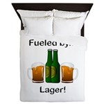 Fueled by Lager Queen Duvet