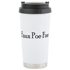 Unique Faux Travel Mug