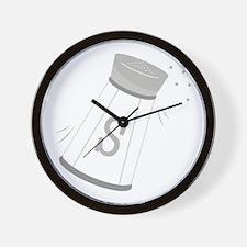 Salt Shaker Wall Clock