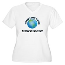World's Most Clever Muscologist Plus Size T-Shirt