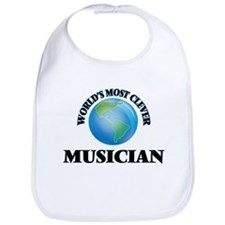 World's Most Clever Musician Bib