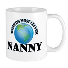 World's Most Clever Nanny Mugs