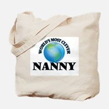 World's Most Clever Nanny Tote Bag