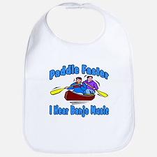 Paddle Faster Banjo Music Bib