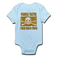 Paddle Faster Hear Banjos Body Suit