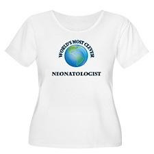 World's Most Clever Neonatologis Plus Size T-Shirt