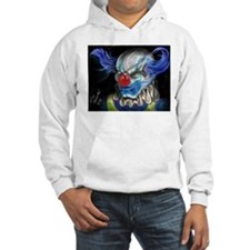 blue haired clown Hoodie