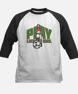 Soccer Play Like a Girl Tee