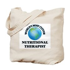 World's Most Clever Nutritional Therapist Tote Bag