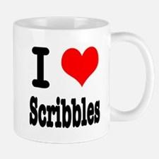 I Heart (Love) Scribbles Mug