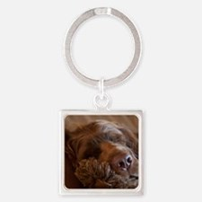 Cute Sussex Square Keychain