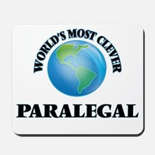 World's Most Clever Paralegal Mousepad