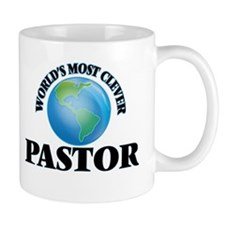 World's Most Clever Pastor Mugs