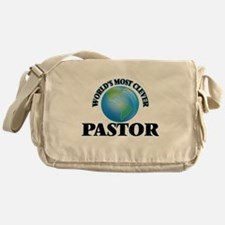 World's Most Clever Pastor Messenger Bag