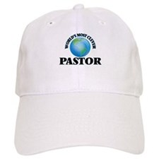 World's Most Clever Pastor Baseball Cap