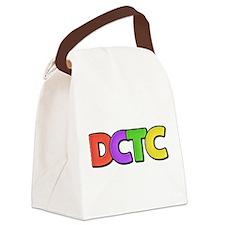 Cute Dctc Canvas Lunch Bag