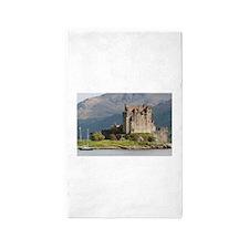 Eilean Donan Castle, Scotland, United Kin Area Rug