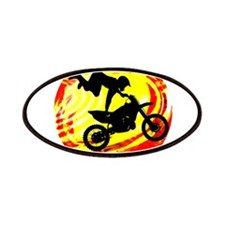 Explosive Motocross Jump Patches