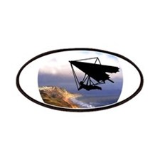 Hang Gliding Over the California Coast Patches