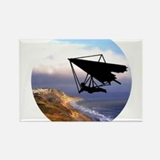 Hang Gliding Over the California Coast Magnets