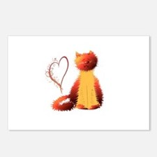 Ginger Cat Postcards (Package of 8)