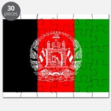 Afghanistan flag Puzzle