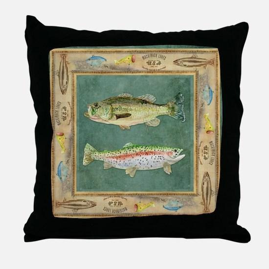 Fish pillows fish throw pillows decorative couch pillows for Fish throw pillows