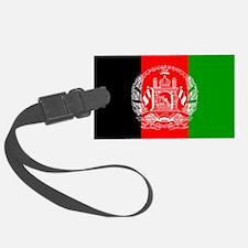 Afghanistan flag Luggage Tag