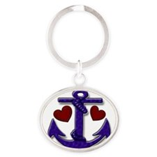 Anchor and Hearts Keychains