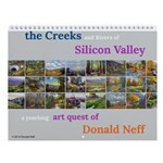 Creeks & Rivers Of Silicon Valley Wall Calenda