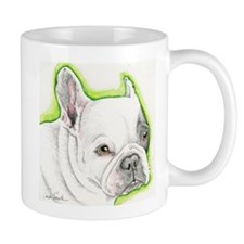 Pied French Bulldog Mugs