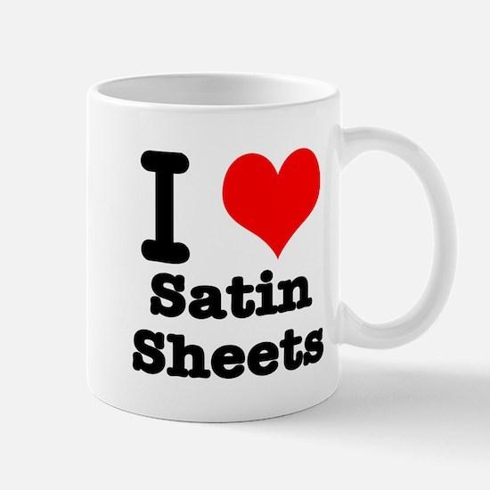 I Heart (Love) Satin Sheets Mug