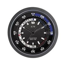 Icw Aquatimer Deep Two Wall Clock