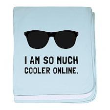 Cooler Online baby blanket