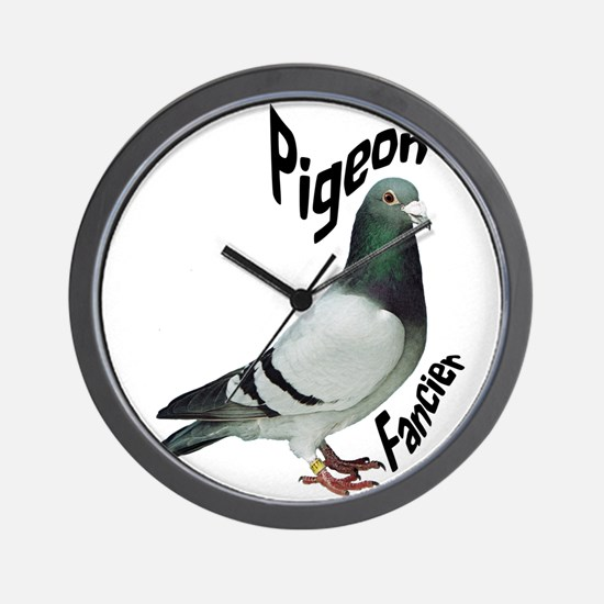 Pigeon Fancier Wall Clock