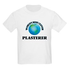 World's Most Clever Plasterer T-Shirt