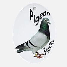 Pigeon Fancier Ornament (Oval)