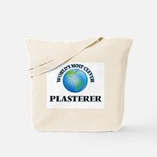 World's Most Clever Plasterer Tote Bag