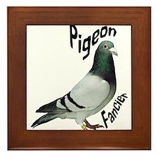 Pigeon Fancier Framed Tile