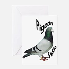 Pigeon Fancier Greeting Cards