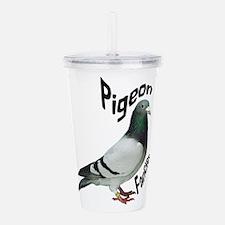 Pigeon Fancier Acrylic Double-wall Tumbler