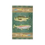 Fish 3x5 Rugs