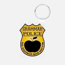 Grammar Police Keychains