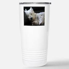 Cute West highland terrier birthday Travel Mug
