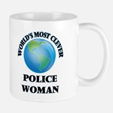 World's Most Clever Police Woman Mugs