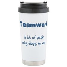 Cute Sports motivational Travel Mug